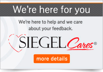We're here for you - Siegel Cares